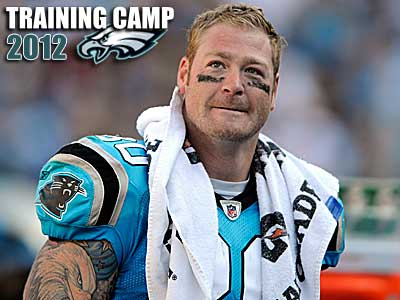 The Eagles are interested in Jeremy Shockey. (Mike McCarn/AP)
