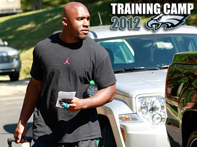 DeMeco Ryans is in his first training camp with the Eagles. (Yong Kim/Staff Photographer)