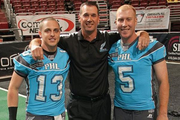 Clint Doleze (center)l will replace Doug Plank as the head coach of the Soul.  (Photo by Daryl Rule / J&amp;D Photography)