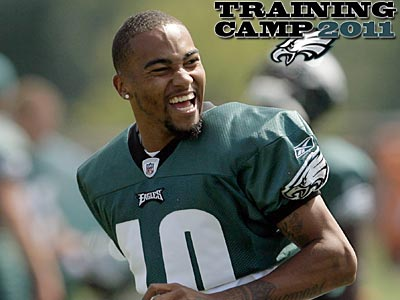 Wide receiver DeSean Jackson will reportedly arrive in Lehigh on Monday. (Yong Kim/Staff file photo)