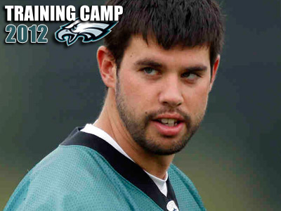 Eagles punter Chas Henry has some competition in camp this summer. (Staff file photo)