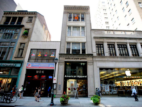 Chic retail near Rittenhouse Square. Soaring commercial real estate