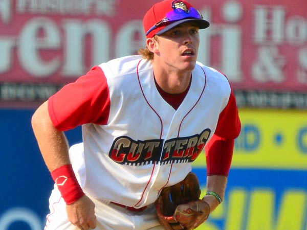 Zach Green of the Williamsport Crosscutters. (Photo courtesy of the<br />Williamsport Crosscutters)