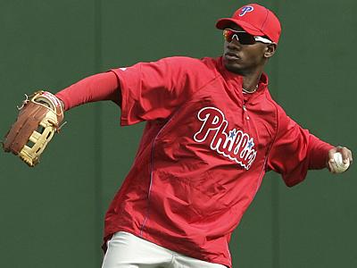 Domonic Brown will make his Phillies debut tonight against the Arizona Diamondbacks. (Yong Kim / Staff Photographer)