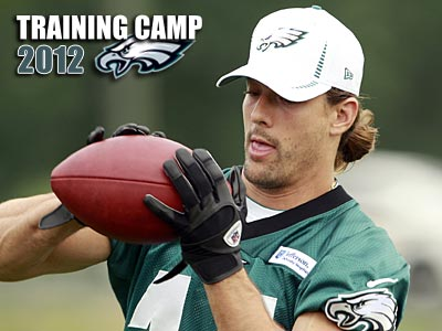 Eagles wide receiver Riley Cooper left Saturday´s practice with a collarbone fracture. (Yong Kim/Staff Photographer)
