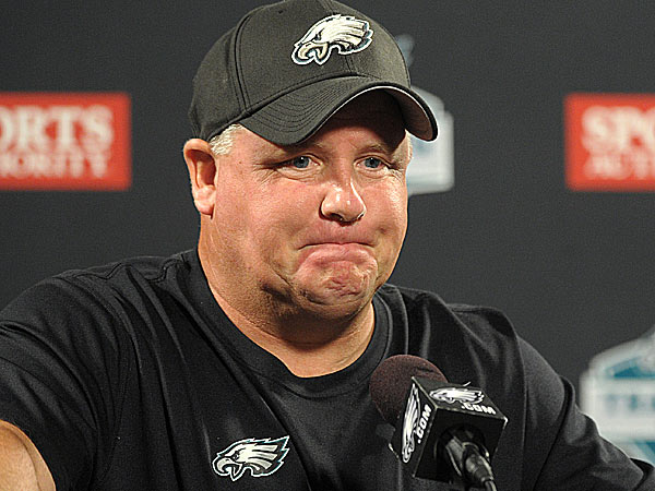 Eagles Notes:  Chip Kelly isn't buying the hype on draft, combi…