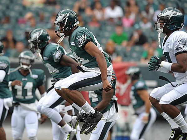 Eagles rookie wide receiver Jordan Matthews. (Matt Smith/The Express-Times/AP)