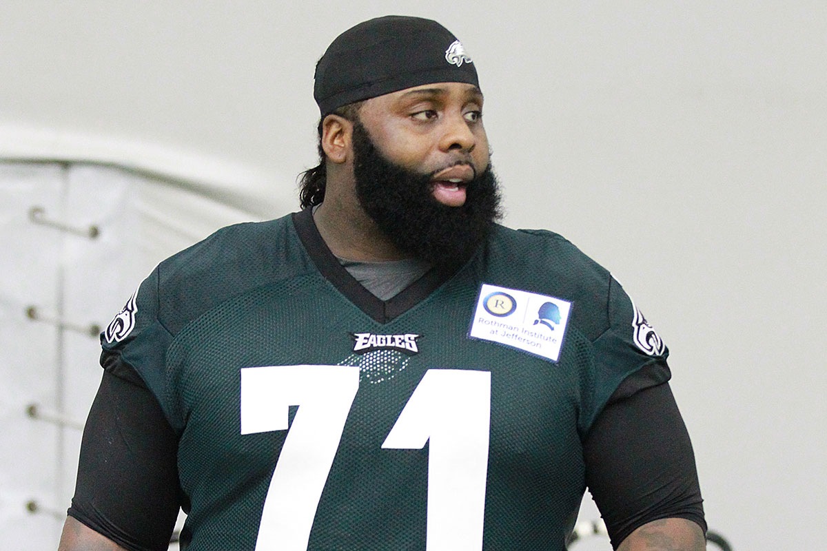 Jerseys NFL Outlet - New Eagles coach means new energy for Jason Peters