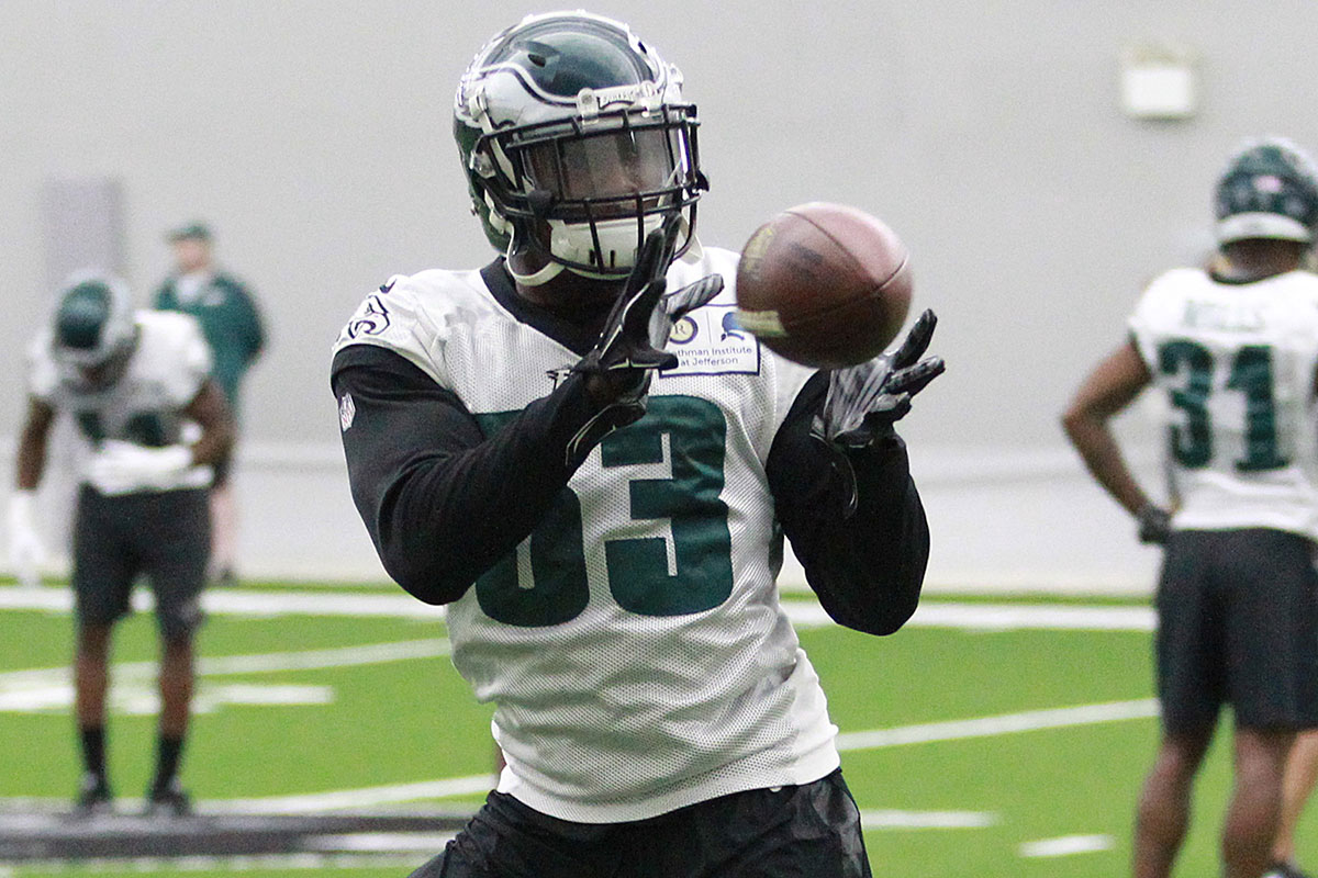 bowen  agholor  bradham face the music