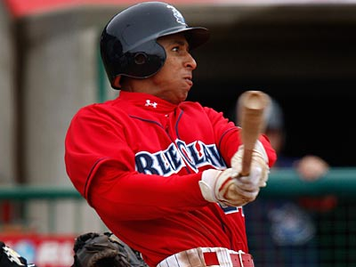 Outfielder Anthony Gose was one of the prospects included in the Roy Oswalt trade. (Eric Mencher/Staff File Photo)
