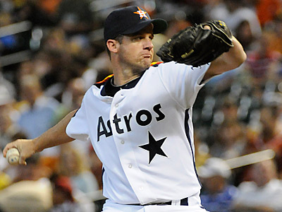 The Phillies have acquired Roy Oswalt from the Astros for J.A. Happ and two minor league prospects. (AP Photo/Pat Sullivan)