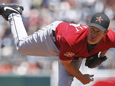 Roy Oswalt´s option year could sink the Phillies plans to acquire the Houston ace. (AP Photo/Ben Margot, File)