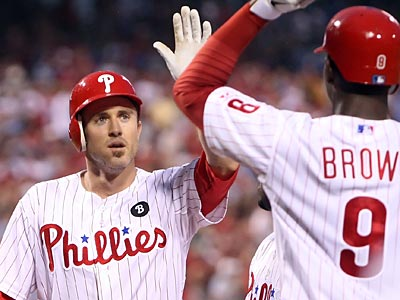 Phillies second baseman Chase Utley finished with four RBI against the Pirates on Friday night. (Steven M. Falk/Staff Photographer)