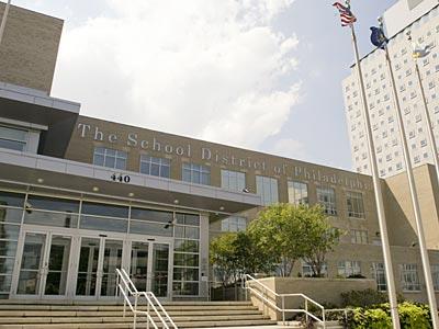 Philadelphia School District Headquarters. (JONATHAN YU / Staff Photographer)