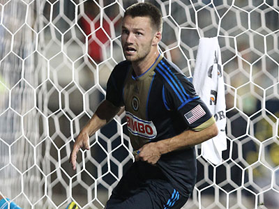 For the second straight home game, the Union turned what appeared to be a certain tie into victory. (Ron Cortes/Staff Photographer)