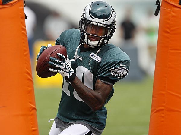 Eagles wide receiver DeSean Jackson. (David Maialetti/Staff Photographer)