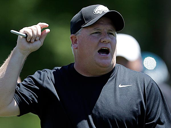 Eagles head coach Chip Kelly. (Matt Rourke/AP)