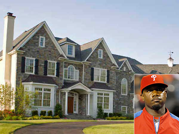 Ryan Howard´s home on Deerfield Court in Blue Bell is in a pending sale.
