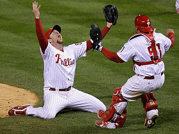 Brad Lidge. (Julie Jacobson/AP file photo)
