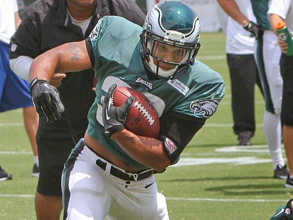 Eagles running back Chris Polk. (David M Warren / Staff Photographer)