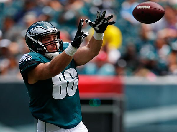 Eagles tight end Zach Ertz. (Matt Rourke/AP)