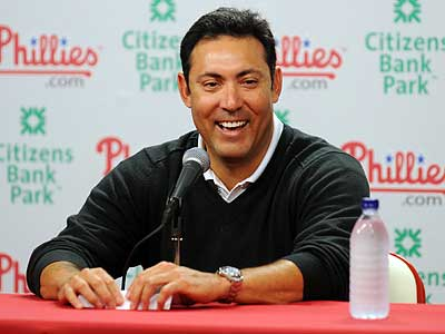 GM Ruben Amaro Jr. has helped turn the Phillies into one of baseball´s elite teams. (Sarah J. Glover/Staff Photographer)