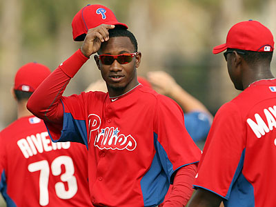 Domonic Brown had started 23 games in a row before being given tonight off. (Yong Kim/Staff file photo)