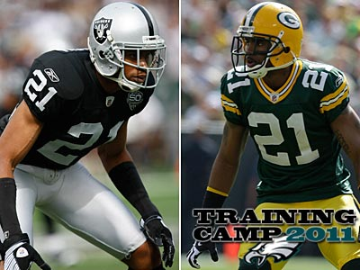 Can Nnamdi Asomugha play a role similar to Packers cornerback Charles Woodson? (AP Photos)