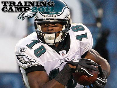 Eagles receiver Jeremy Maclin has reported to training camp. (Ron Cortes/Staff File Photo)