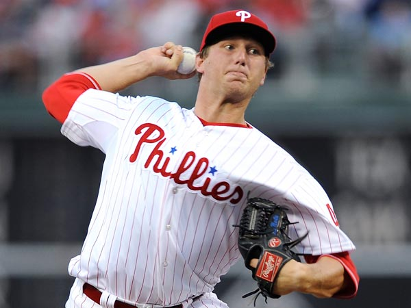Phillies pitcher Ethan Martin. (Michael Perez/AP)