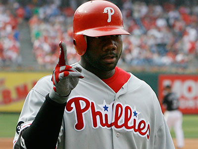 Ryan Howard is currently on the 15-day disabled list. (Michael S. Wirtz / Staff file photo)