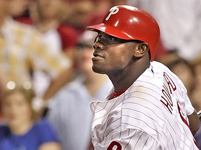 Ryan Howard is the latest Phillies player to land on the disabled list.  (Steven M. Falk / Staff Photographer)