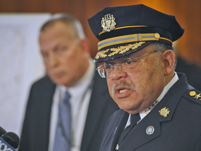 Police Commissioner Charles Ramsey agrees that a greater police presence is crucial. (File Photo / Staff)