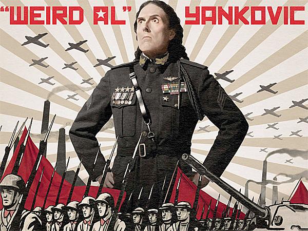 """Weird Al"" Yankovic´s new album, ´Mandatory Fun.´ (From the album cover)"