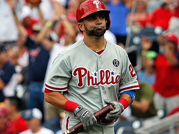 Phillies catcher Wil Nieves. (Alex Brandon/AP)