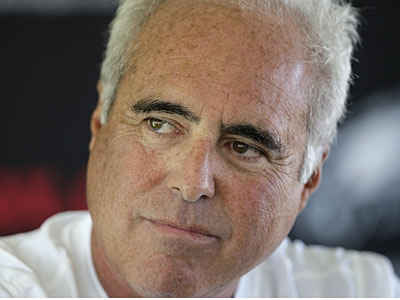 "Owner Jeffrey Lurie said the Eagles´ philosophy ""isn´t about rebuilding, retooling, or anything -- this is going for it. That´s our approach. It´s pedal-to-the-metal."" (David Maialetti/Daily News)"