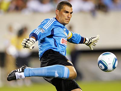 Faryd Mondragon could miss up to four weeks due to injury. (Michael Perez/AP)