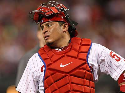 Carlos Ruiz has not played since August 2 due to a partial tear in his left foot. (Steven M. Falk/Staff file photo)