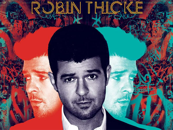 "Robin Thicke: ""Blurred Lines"""