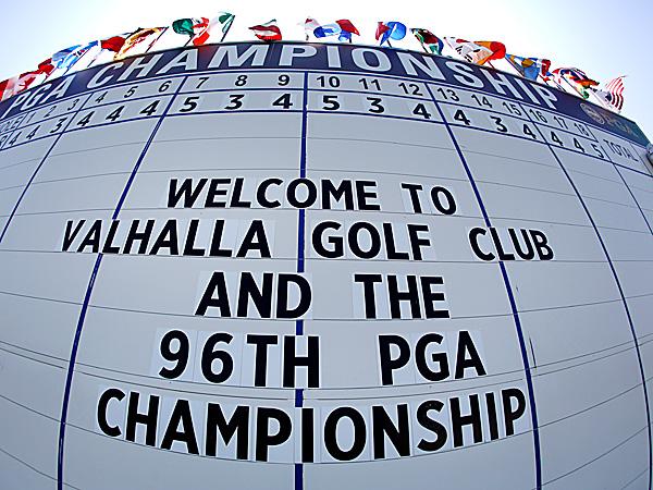 The 2014 PGA Championship golf tournament is at Valhalla Golf Club. (Jeff Roberson/AP)