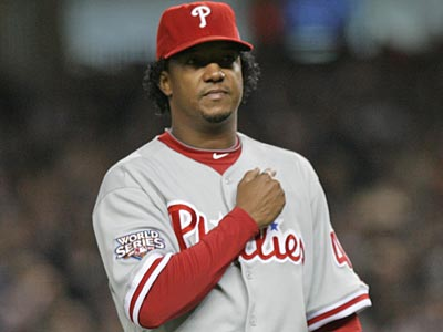 Pedro Martinez said that he didn´t want to go into the Hall of Fame as a Phillie. (Yong Kim / Staff File Photo)