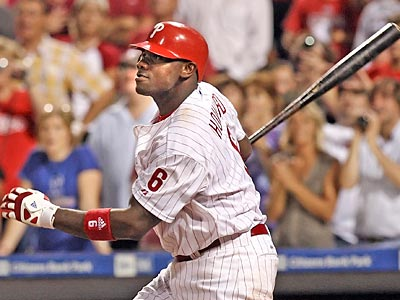 Ryan Howard is one of 15 Phillies to spend time on the disabled list this year. Who will step up in his absence? (Steven M. Falk / Staff Photographer)