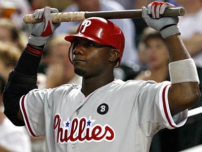 Phillies first baseman is sitting out Friday night´s game against the Cardinals. (Ross D. Franklin/AP)