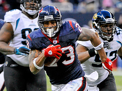 Arian Foster scored more fantasy points in 2010 than any other player. (AP Photo/Dave Einsel)