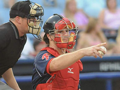 Scouts view Tommy Joseph as one of the league´s top catching prospects. (Ralph Trout/Reading Phillies)