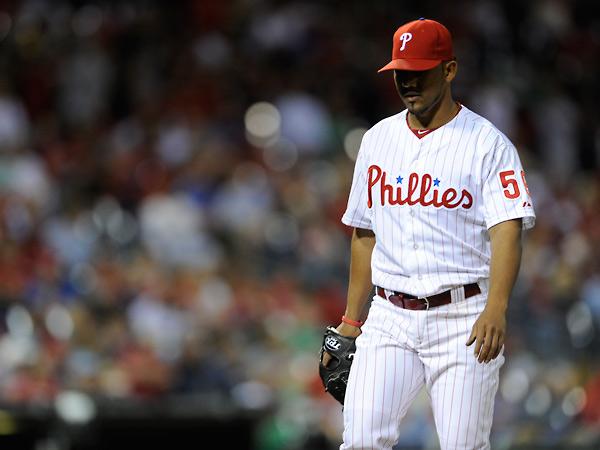 Philadelphia Phillies´ Antonio Bastardo is shown during a baseball game against the Cincinnati Reds on Friday, May 17, 2013, in Philadelphia. (AP Photo/Michael Perez)