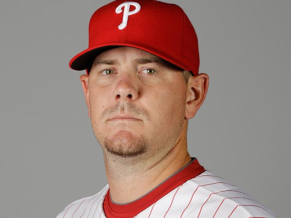 This is a photo of Phillies´ 2011 non-roster spring training invitee Dan Meyer. (AP Photo/Eric Gay)