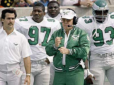 The 46 defense was the base alignment that former Eagles´ coach Buddy Ryan liked best. (AP File Photo)