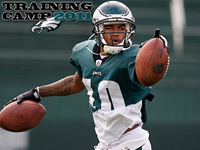 Eagles wide receiver DeSean Jackson participated in his first practice today. (David Maialetti/Staff file photo)