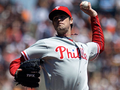 General manager Ruben Amaro Jr. has indicated that re-signing hurler Cole Hamels is a top priority for the Phillies. (Ben Margot/AP)